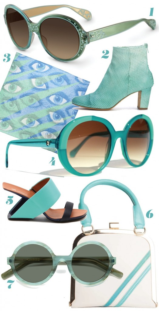 Trend watch: Shades of the sea