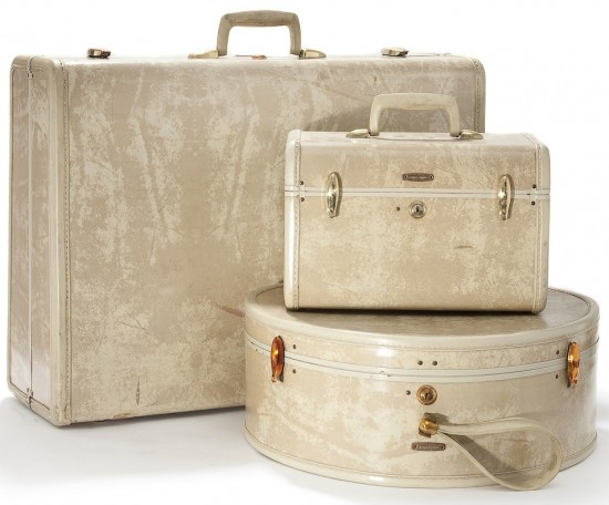 Samsonite Luggage Trio 1950's