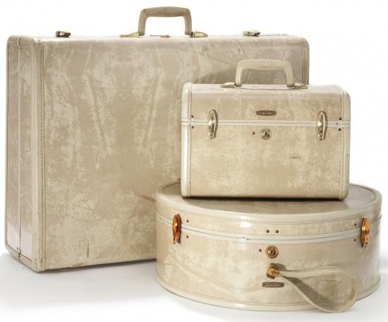Samsonite Luggage Trio 1950's