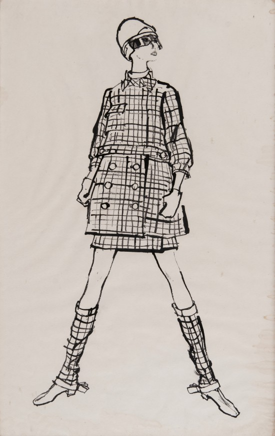 Original fashion illustrations go on sale