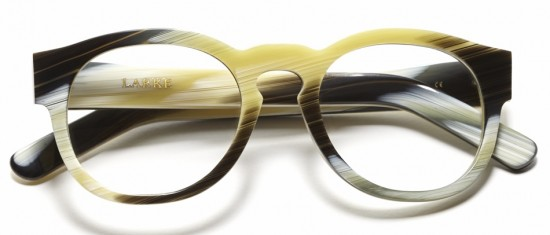 Gill in Buffalo Horn by Laura Nicholson Larke Optics