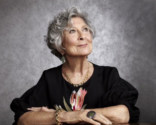 Joan Burstein Founder of Browns London photographed by Billie Sheepers
