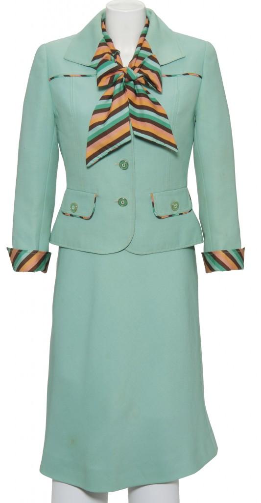 Margaret Thatcher Suit Courtesy of Christie's