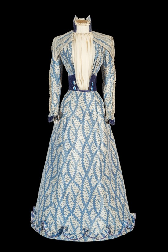 Blue Dress worn by Elisabeth Empress of Austria