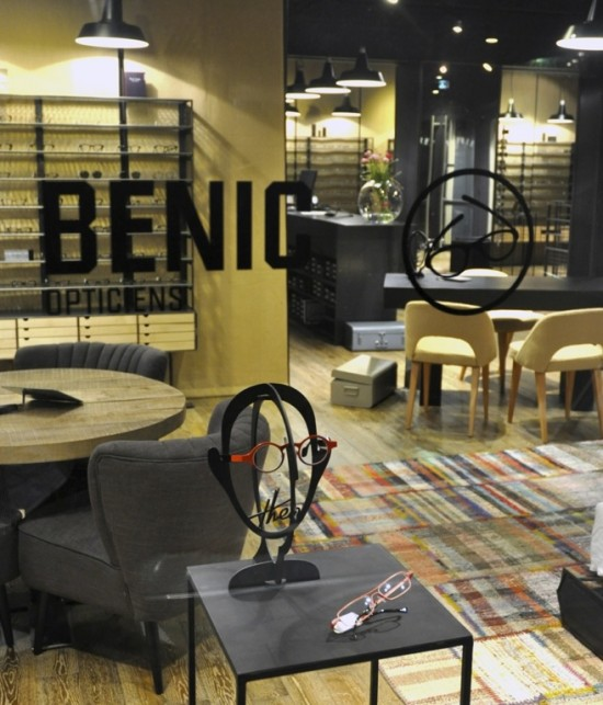 Innovative Independent Labels at Benic Opticiens