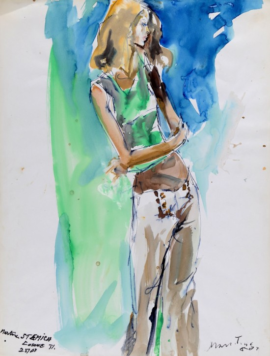 A chance to buy...original fashion illustrations