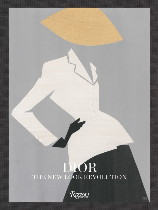 Dior, The New Look Revolution published by Rizzoli featuring Dior's The Bar Suit, by Mats Gustafson