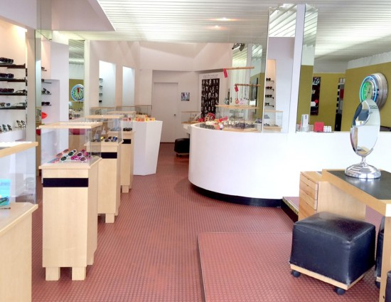 l.a. Eyeworks Melrose Avenue Interior