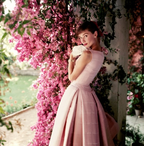 Audrey Hepburn wearing Givenchy by Norman Parkinson 1955