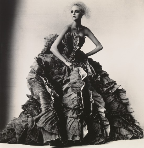 Irving Penn: Ball Dress by Olivier Theyskens for Nina Ricci New York, 2007