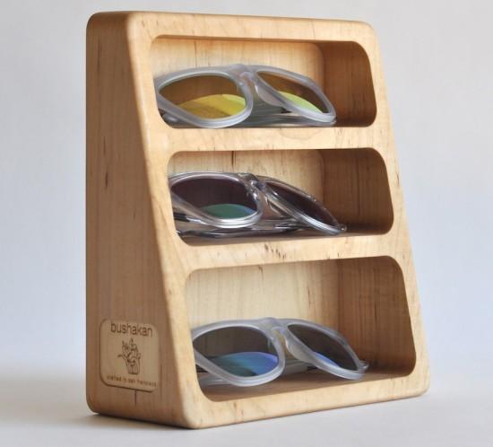 Bushakan's 3 pocket storage in maple