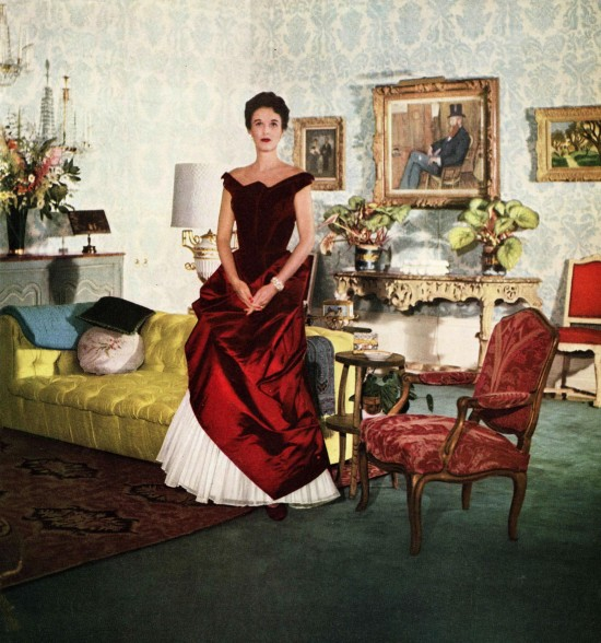 Babe Paley in Charles James Gown 1950