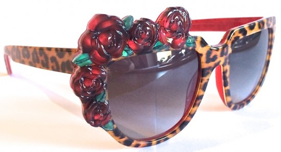 Exotic Eyewear - Rose/Rouge in Leopard by Anna-Karin Karlsson