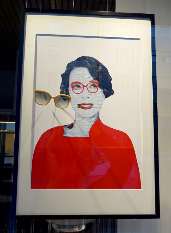 Ewa Look's The Authenticity of Red: The Gentlewoman featuring LGR Eyewear